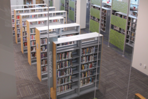 auora library shelving