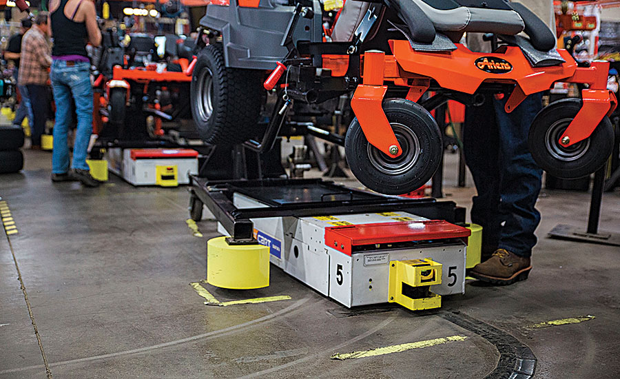 Automated Guided Carts