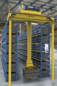 Automated Storage Systems Vertical Lift Mobile Pallet