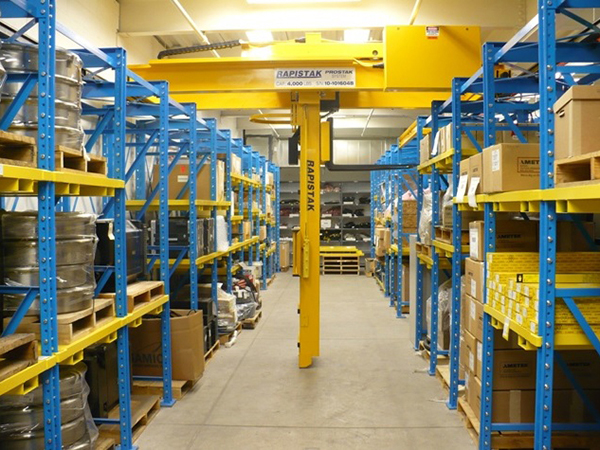 High Density Stacker Crane System For Die And Mold